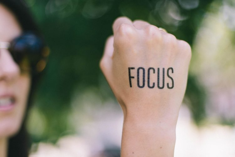 staying focused