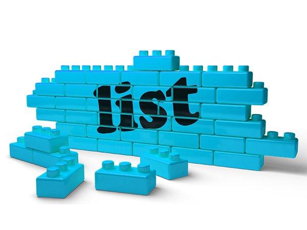 ways to create a list