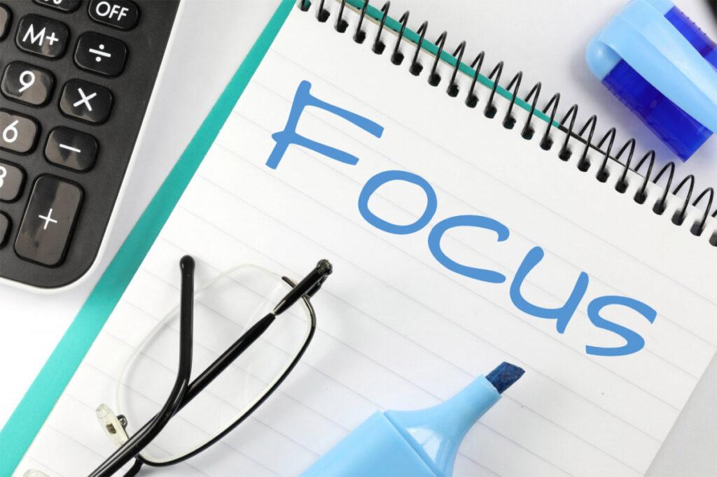 focus is important